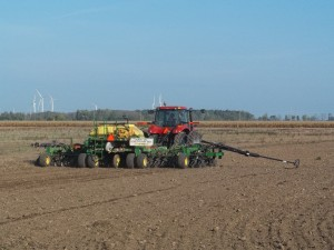 It's wheat planting season! Call to rent a drill or hire us to custom plant your wheat.